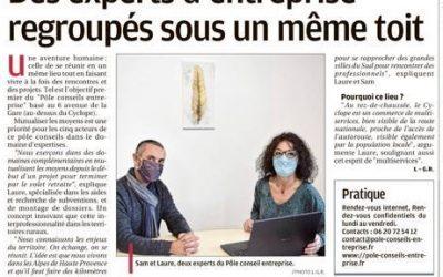 Un article paru dans La Provence le 4 janvier 2021
